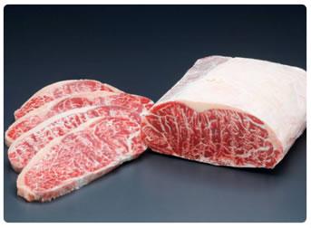 Мраморное мясо Мелтик. Стриплоин из тонкого кра