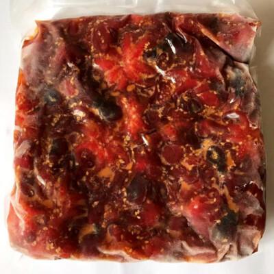 Салат с беби осьминожками (Chuka iidako)