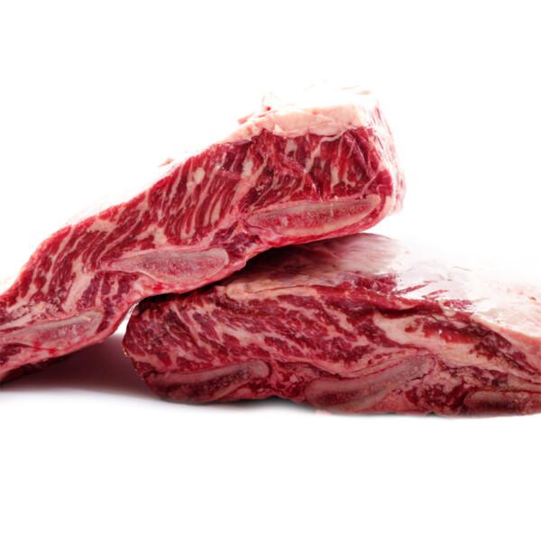 Ребра мраморной говядины. Шорт рибс