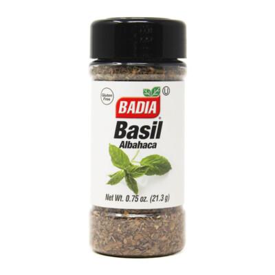 Молотый базилик Badia