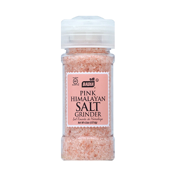 Розовая гималайская соль мельница