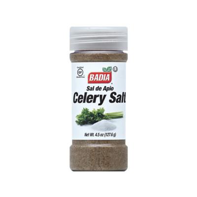 Сельдерей с солью. Сельдереевая соль.