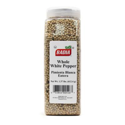 Перец белый горошек (целый) Badia